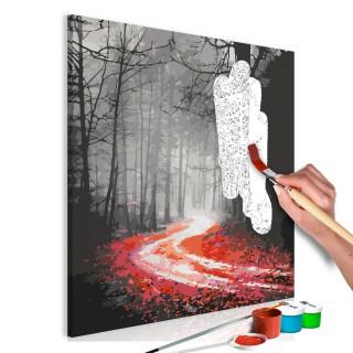 Πίνακας για να τον ζωγραφίζεις - Grim Autumn