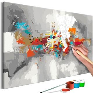 Πίνακας για να τον ζωγραφίζεις - Artistic Disorder