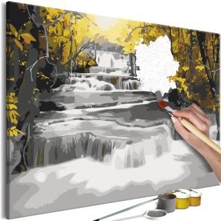 Πίνακας για να τον ζωγραφίζεις - Autumn Landscape