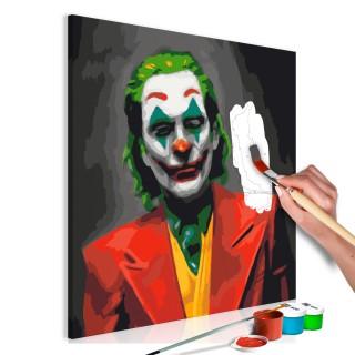 Πίνακας για να τον ζωγραφίζεις - Joker