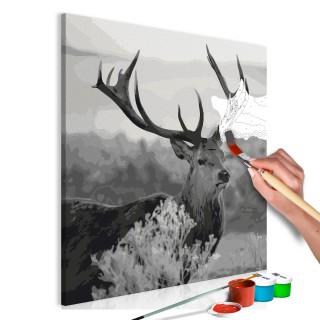 Πίνακας για να τον ζωγραφίζεις - Grey Wildness