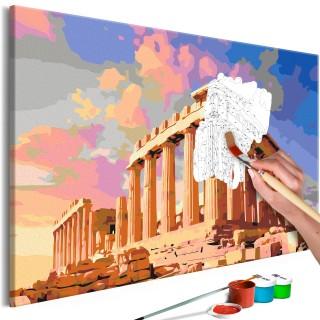 Πίνακας για να τον ζωγραφίζεις - Acropolis
