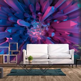 Αυτοκόλλητη φωτοταπετσαρία - Heart of Crystal