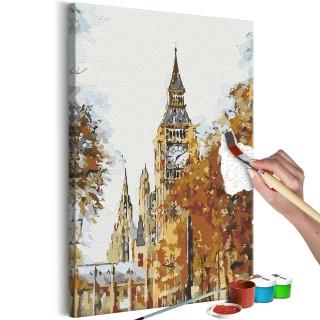 Πίνακας για να τον ζωγραφίζεις - Autumn in London