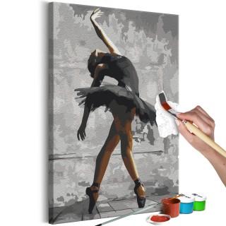 Πίνακας για να τον ζωγραφίζεις - Ballerina Pose