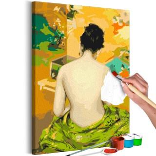Πίνακας για να τον ζωγραφίζεις - Back Of A Nude