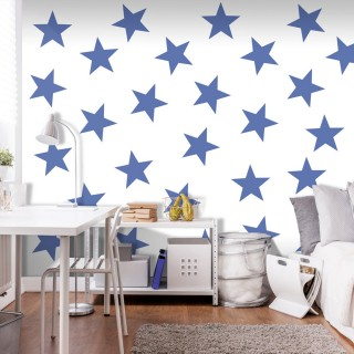 Φωτοταπετσαρία - Blue Star