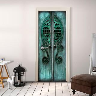 Φωτοταπετσαρία πόρτας - Emerald Gates
