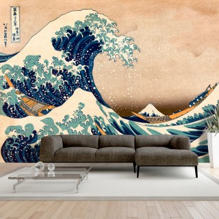 Φωτοταπετσαρία - Hokusai: The Great Wave off Kanagawa (Reproduction)