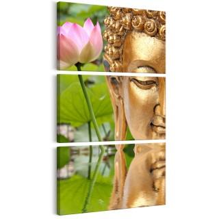 Πίνακας - Statue with a Flower