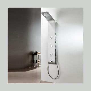Στήλη Ντούς-Υδρομασάζ Icos Shower Lete Θερμομικτική 4 Εξόδων