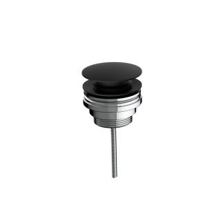 Βαλβίδα νιπτήρος Clic-Clac Eurorama R0338-400 Μαύρο Matt
