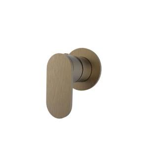 Μίκτης εντοιχισμού 1 εξόδου Armando Vicario Slim Antique Brass 500050-221