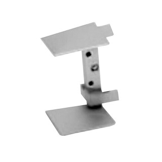 Εσωτερική Γωνία Opes 254 για Προφίλ Πάγκου 4cm