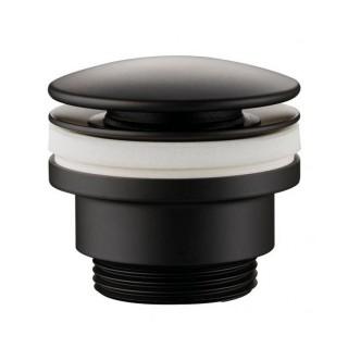 Βαλβίδα νιπτήρα Pop-UP Universal μαύρη 127044