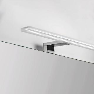 Λυχνία LED πάνω από καθρέφτη, 300 mm, IP44, δροσερό λευκό φως, κατασκευή απο αλουμίνιο και πλαστικό Χρώμιο Sagitarius LED 5145811