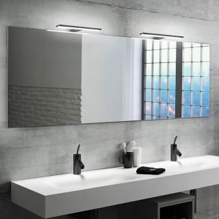 Λυχνία LED πάνω από καθρέφτη, 280 mm, IP44, φυσικό  λευκό φως, κατασκευή απο πλαστικό Μαύρο 5150114