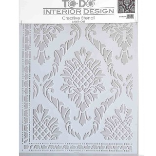 Stencil για Διακόσμηση Τοίχου ToDo Creative Ideas 35x40cm No6 71610