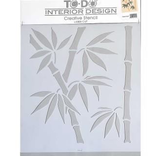 Stencil για Διακόσμηση Τοίχου ToDo Creative Ideas 35x40cm No8 71617