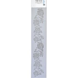 Stencil για Διακόσμηση Τοίχου Long Borders ToDo Creative Ideas 15x70cm No407