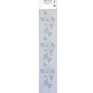 Stencil για Διακόσμηση Τοίχου Long Borders ToDo Creative Ideas 15x70cm No400