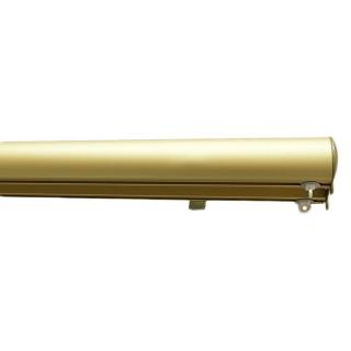 Σιδηρόδρομος αλουμινίου οβάλ διπλός χρυσό