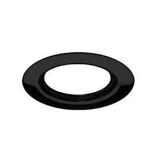 Σποτ Χωνευτό Σταθερό από Αλουμίνιο σε χρώμα Μαύρο - Χωρίς Λαμπτήρα - Fos_me 05-00207-2