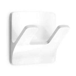 """Αυτοκόλλητος Διπλός Γάντζος """"Double Tree Brunch"""" Αδιάβροχος Λευκός Inofix 2192-2"""