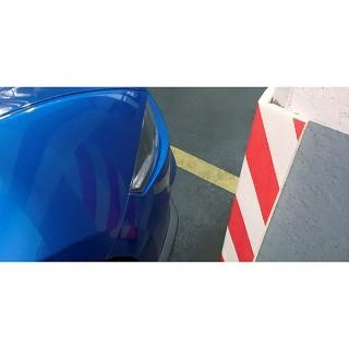 Αυτοκόλλητο Προστατευτικό Για Γωνίες Parking Κόκκινο Λευκό Inofix 4101-1