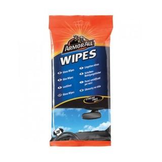 Υγρά μαντηλάκια για τα τζάμια Flow-pack wipes glass ARMOR ALL 370200100