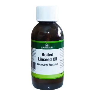 Βρασμένο Λινέλαιο ξύλου Boiled Linseed Oil 150ml Borma Wachs