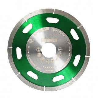 Δίσκος Κοπής Διαμαντιού με Ατσάλινο Σώμα 115mm και Πάχος 1,1mm για σκληρά πλακάκια, πορσελάνη κ.α. Diamond Blade B-SLIM Bihui