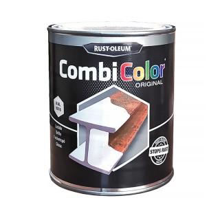Χρώμα Μετάλλων και Αντι-Σκουριακό αστάρι σε ένα της RUST-OLEUM CombiColor® 7300 Λείο γυαλιστερό Λευκό Ral9016 0,75L