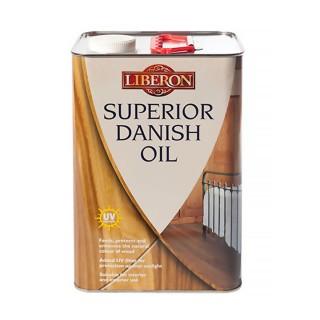 Λάδι που τρέφει και προστατεύει με πρόσθετο φίλτρο UV LIBERON SUPERIOR DANISH OIL 1Lt