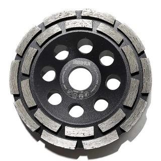Τροχός διπλής σειράς για λείανση σκυροδέματος και δαπέδου 125mm Diamond Grinding Cup Wheel Bihui