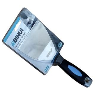 Σπάτουλα Κόλλας - Ξύστρα με εργονομική , Μαλακή λαβή 100mm Bihui Tile Remover Scraper TRSC4