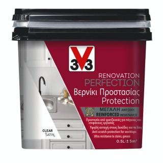 Βερνίκι Νερού για Χρώμα Ανακαίνισης Κουζίνας V33 RENOVATION PERFECTION KITCHEN 0,5LT