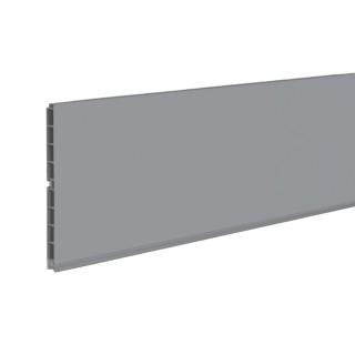 Μπάζα κουζίνας Opes Ύψους 10cm σε Βέργα 4m σε Χρώμα Ανθρακί