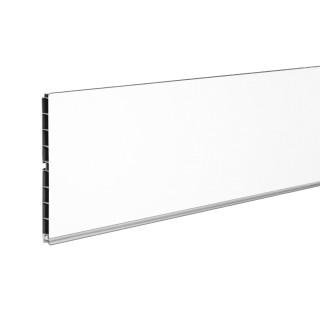 Μπάζα κουζίνας Opes Ύψους 10cm σε Βέργα 4m σε Χρώμα Λευκό