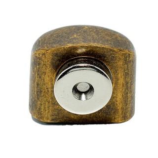 Στόπερ πόρτας-τοίχου ds001-bab μαγνητικό Μπρονζέ