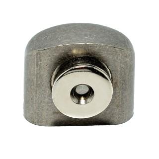 Στόπερ πόρτας-δαπέδου ds001-ras μαγνητικό Νίκελ ματ