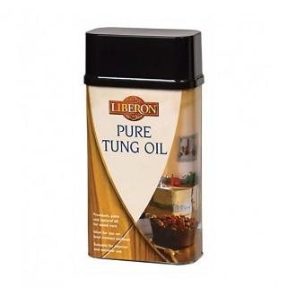 Φυσικό λάδι ξύλου για επιφάνειες που έρχονται σε επαφή με τρόφιμα Liberon TUNG OIL Pure 250ml ΑΧΡΩΜΟ ΜΑΤ