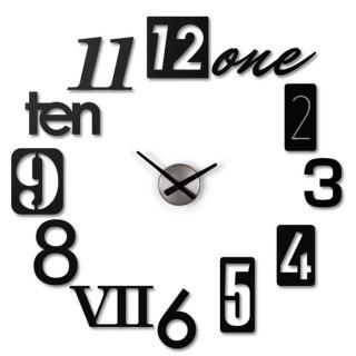 Μεταλλικό Ρολόι Τοίχου Umbra 118430-040 NUMBRA CLOCK