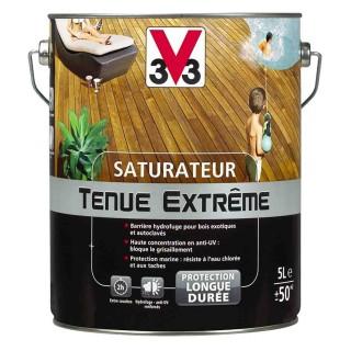 Λάδι νερού Ματ για ξύλινες βεράντες EXTREME CARE DECKING V33 1L σε Teak Χρώμα