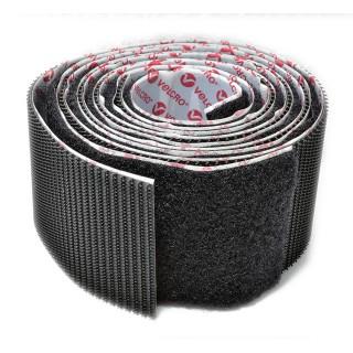 Αυτοκόλλητη Ταινία (χριτς-χρατς) Στερέωσης 1mx50mm Μαύρη Velcro