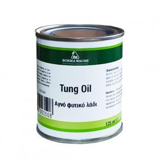 Φυσικό Λάδι Σατινέ για την Προστασία Ξύλου Tung Oil Borma Wachs 125ml Άχρωμο