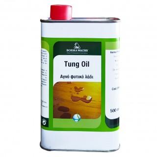 Φυσικό Λάδι Σατινέ για την Προστασία Ξύλου Tung Oil Borma Wachs 500ml Άχρωμο