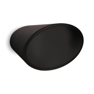 Μπούλ εξώθυρας Convex σειρά 479P σε Ματ Μαύρο