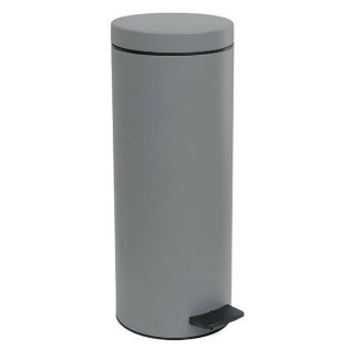 Χαρτοδοχείο μπάνιου 16Lit σε Χρώμα Matt Concrete Grey 16-2053-163 Pam & Co