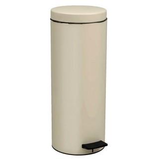 Χαρτοδοχείο μπάνιου 16Lit σε Χρώμα ΑΪΒΟΡΙ ΜΑΤ 16-2053-703 Pam & Co